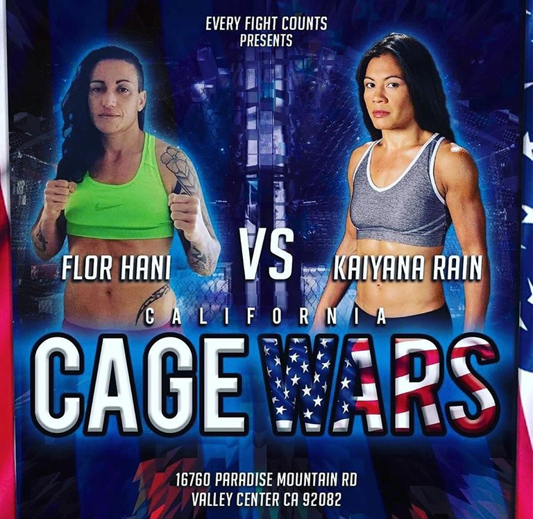 07/21/2019 – CALI CAGE WARS – California USA